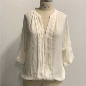 New ivory blouse
